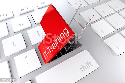 957759714istockphoto red enter key open with ladder underpass business 3D Illustratio 614243464