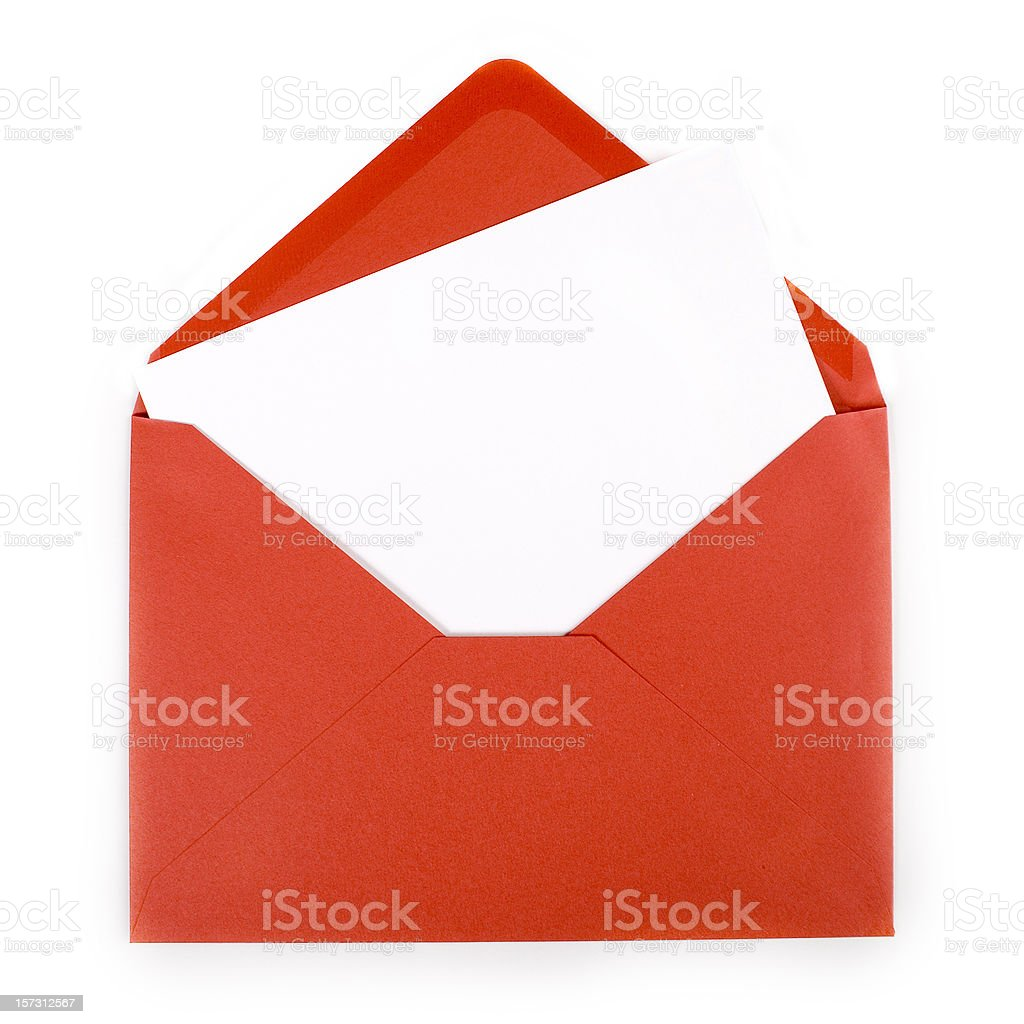 red envelope royalty-free stock photo