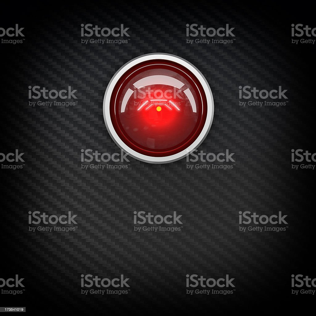 red eye hal stock photo