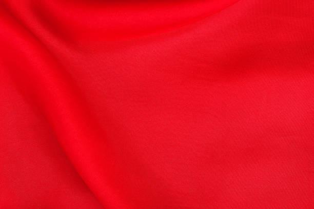 roter stoff für hintergrund und design, schöne muster aus seide oder leinen. - satin stock-fotos und bilder
