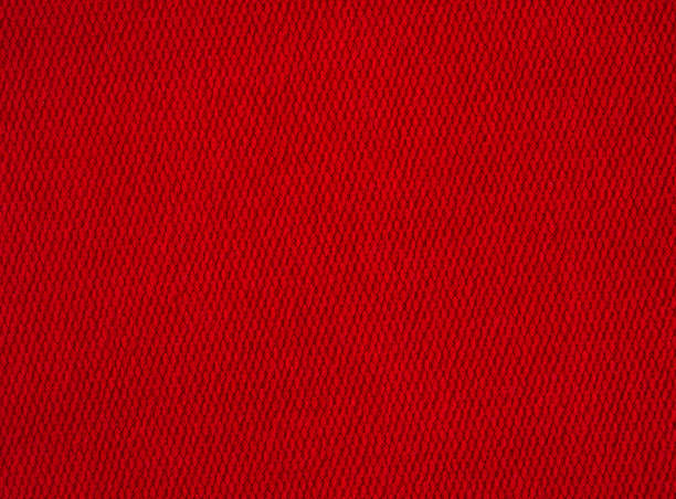 texture de tissu rouge. image de fond - textile photos et images de collection