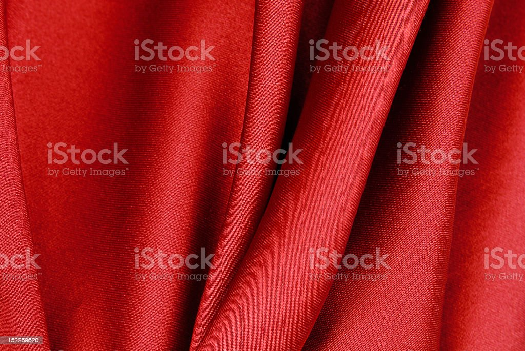 red fabric texture royalty-free stock photo
