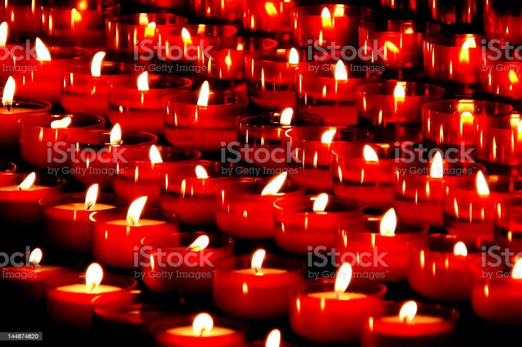Red faith royalty-free stock photo
