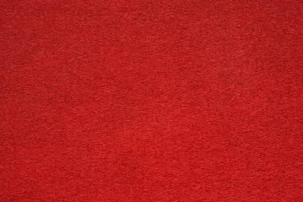 赤はテーブルを閉じる極値表面を感じた ストックフォト
