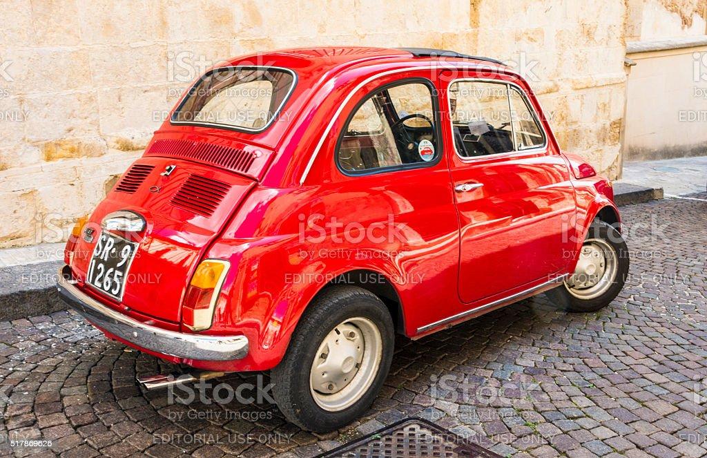 Rosso Fiat - foto stock