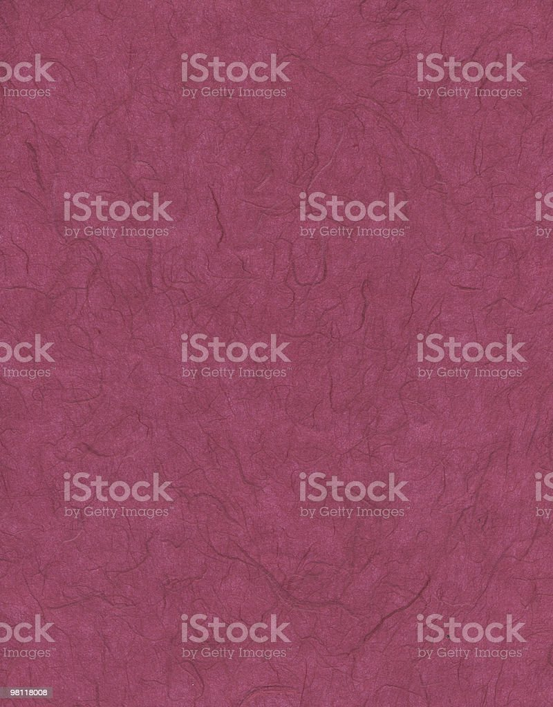 Red Fiber Texture Paper royalty-free stock photo