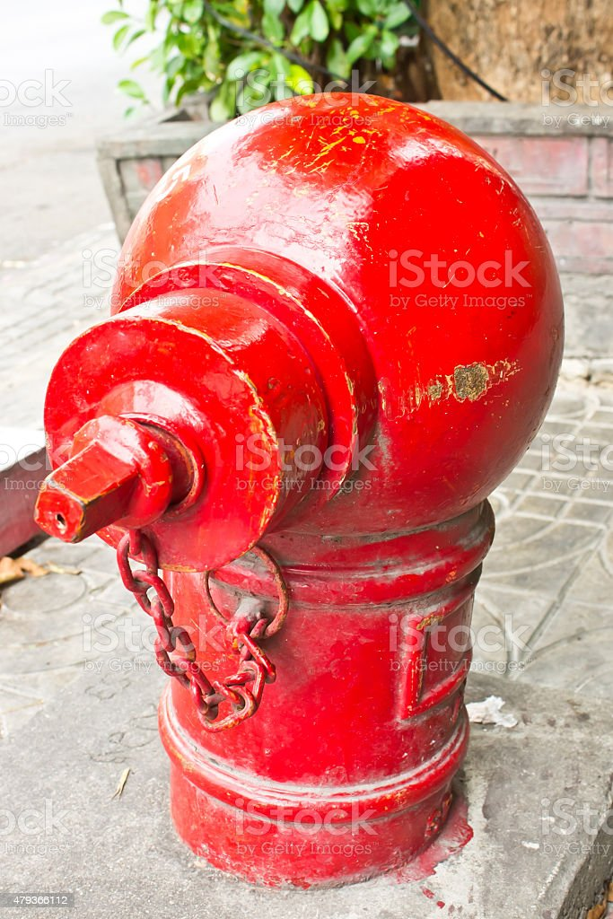 red fire hydrant, Fire Equipment.