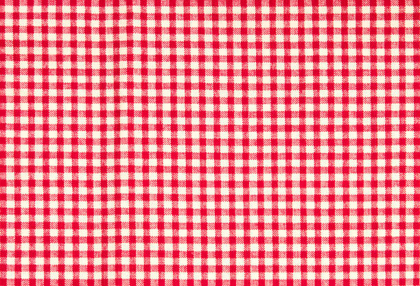 Red firebrick gingham pattern texture background Red firebrick gingham pattern texture background red cloth stock pictures, royalty-free photos & images