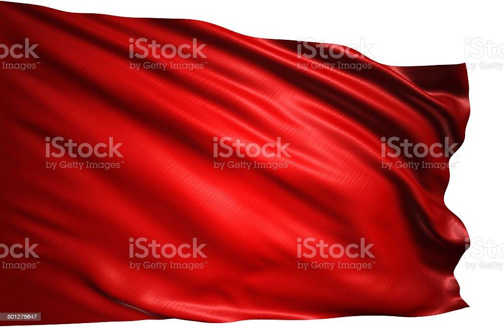 Flaga Czerwone zbiór zdjęć royalty-free