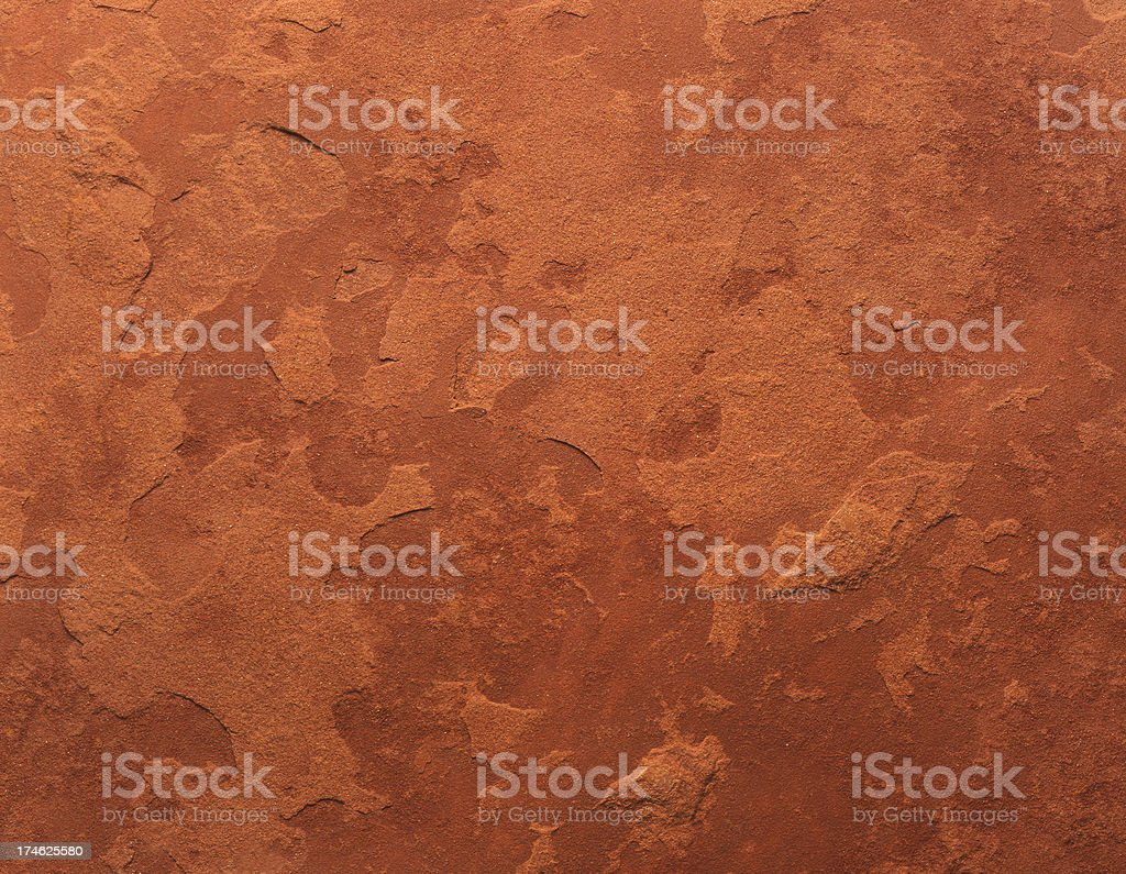 Red Flagstone Background stock photo