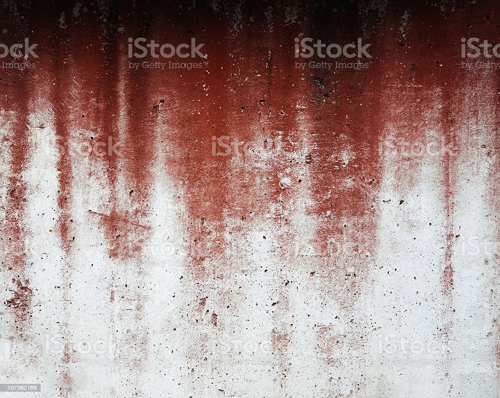 Flusso rosso - foto stock