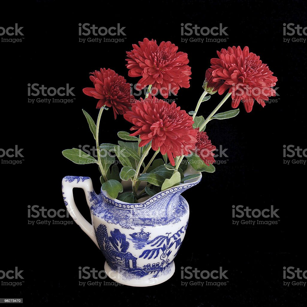 Red Flower China royalty-free stock photo
