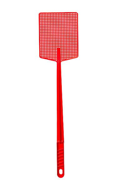 Red Flyswatter stock photo