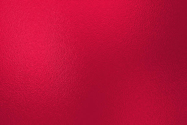 red foil texture background - foil stock photos and pictures