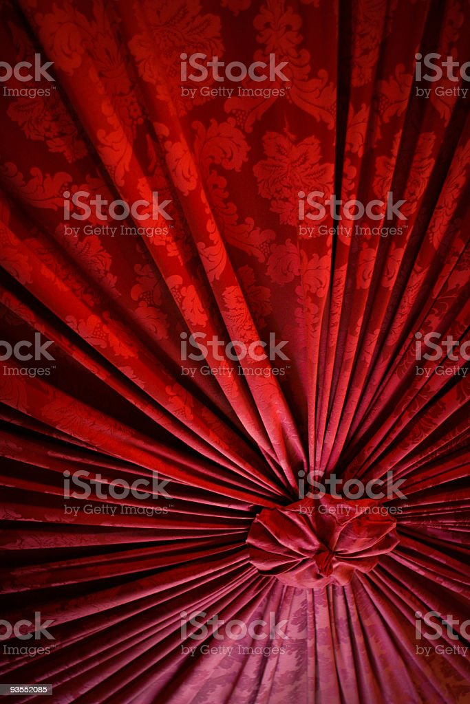 Red Folds royalty-free stock photo