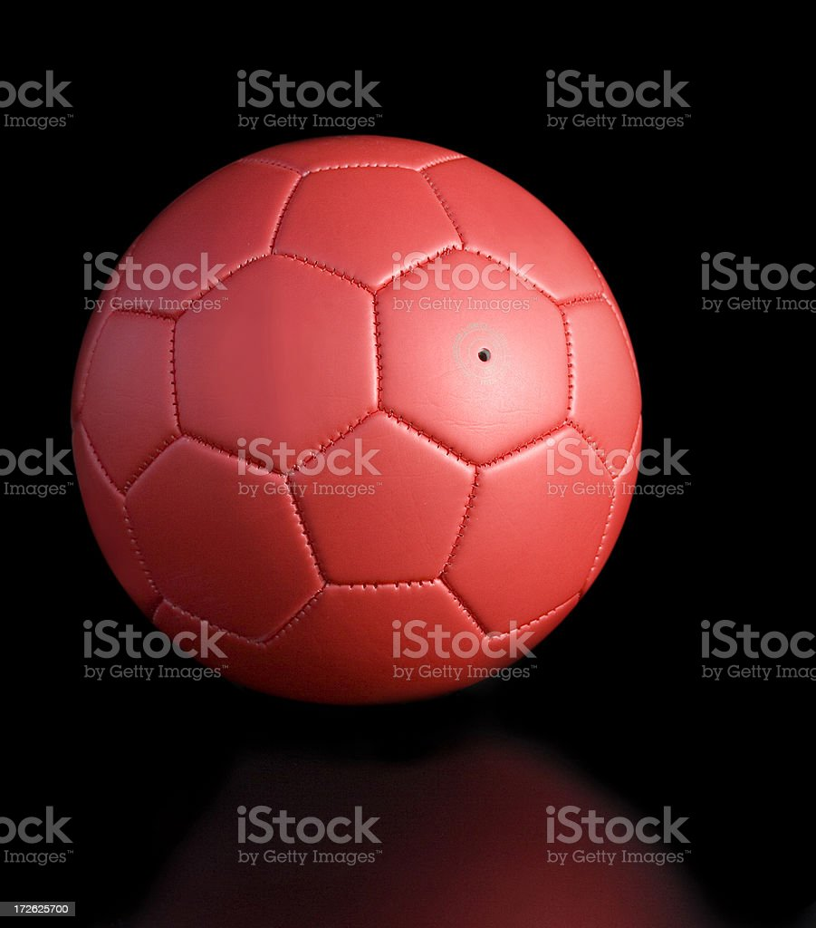 red football stock photo