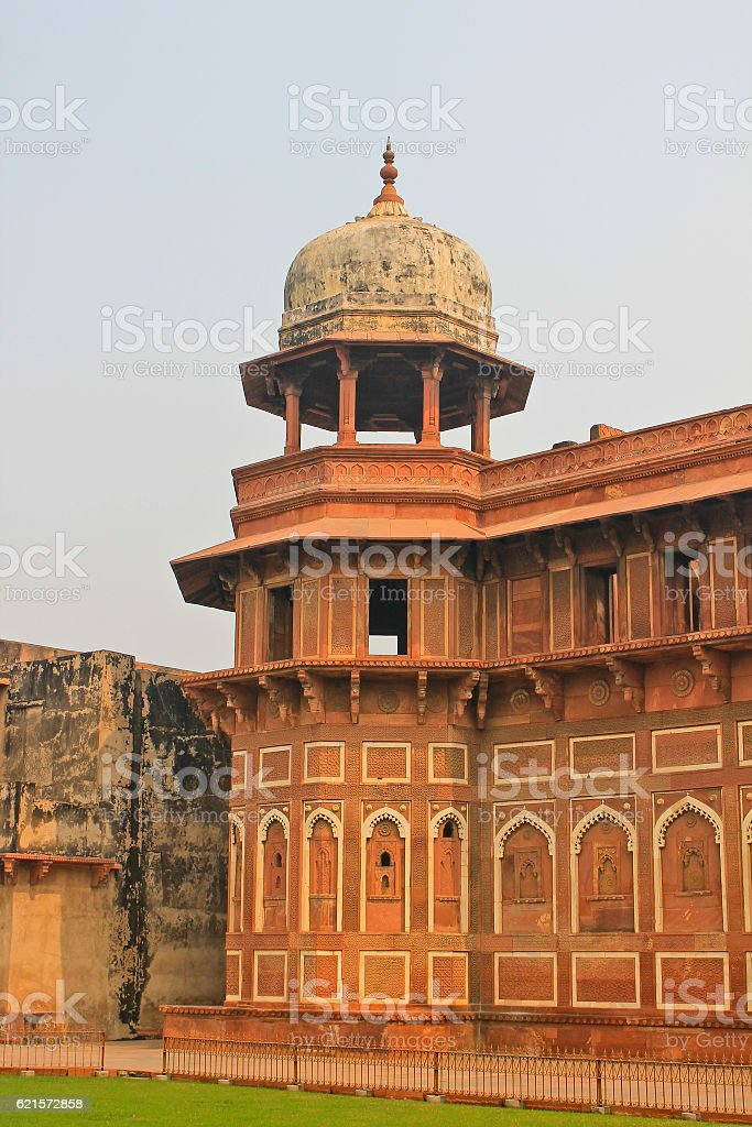 Le Fort rouge d'Agra, Inde photo libre de droits
