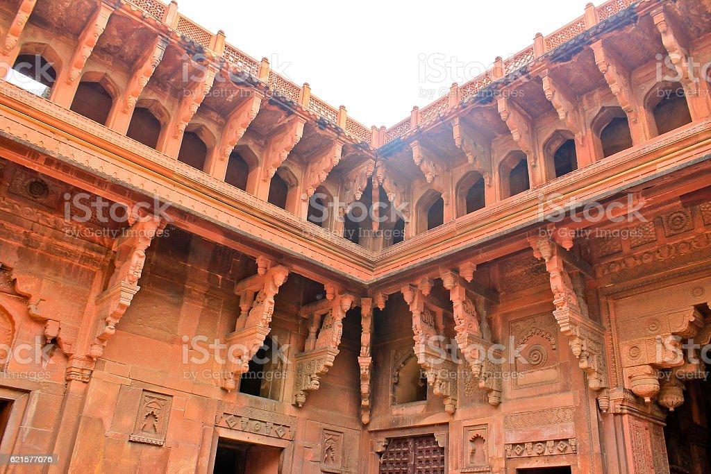 Le Fort rouge d'Agra, Inde photo libre de droits