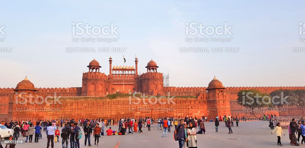 Red Fort, Delhi, India stock photo