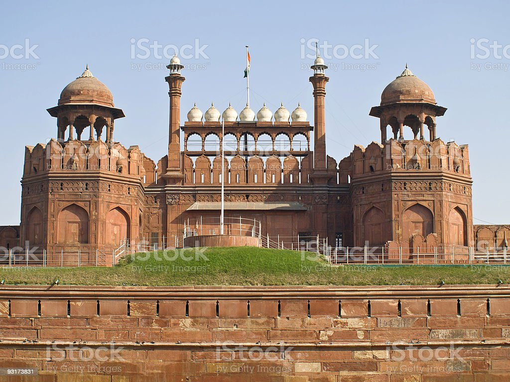 Red Fort, Delhi stock photo