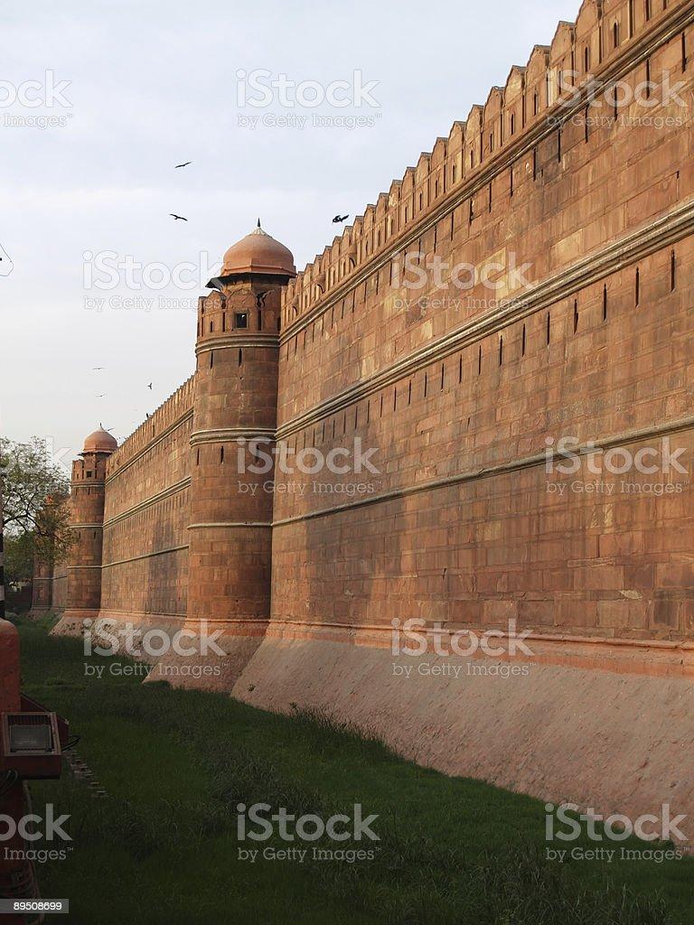 Fort Rouge à Delhi, Inde photo libre de droits