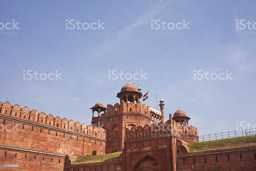 Red Fort, New Delhi India royalty-free stock photo