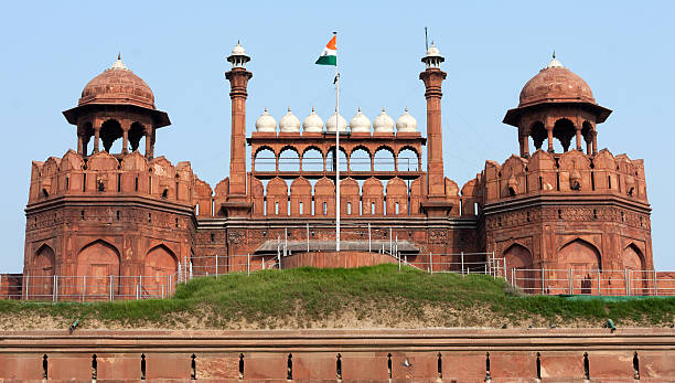 Red Fort New Delhi, India stock photo