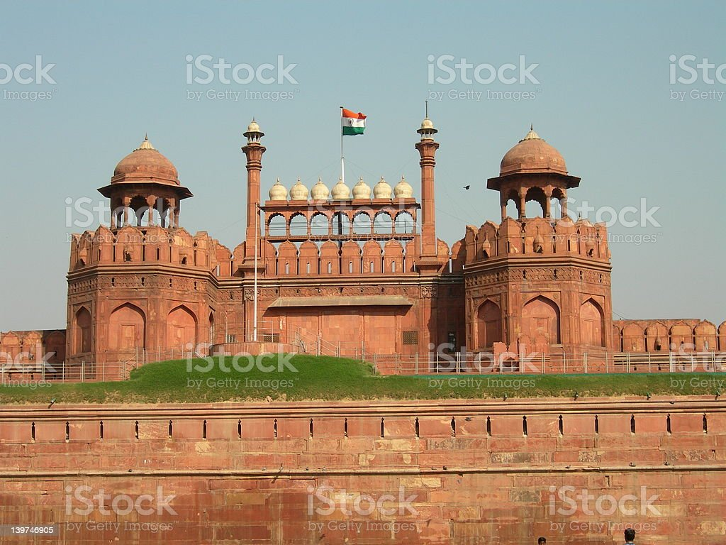 Red Fort royalty-free stock photo