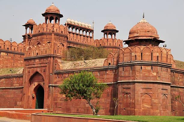 Red Fort,New Delhi,India. stock photo