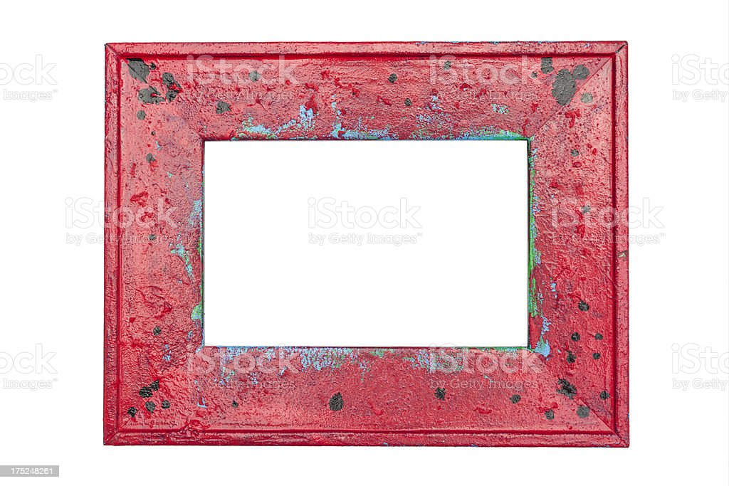 Red Frame royalty-free stock photo