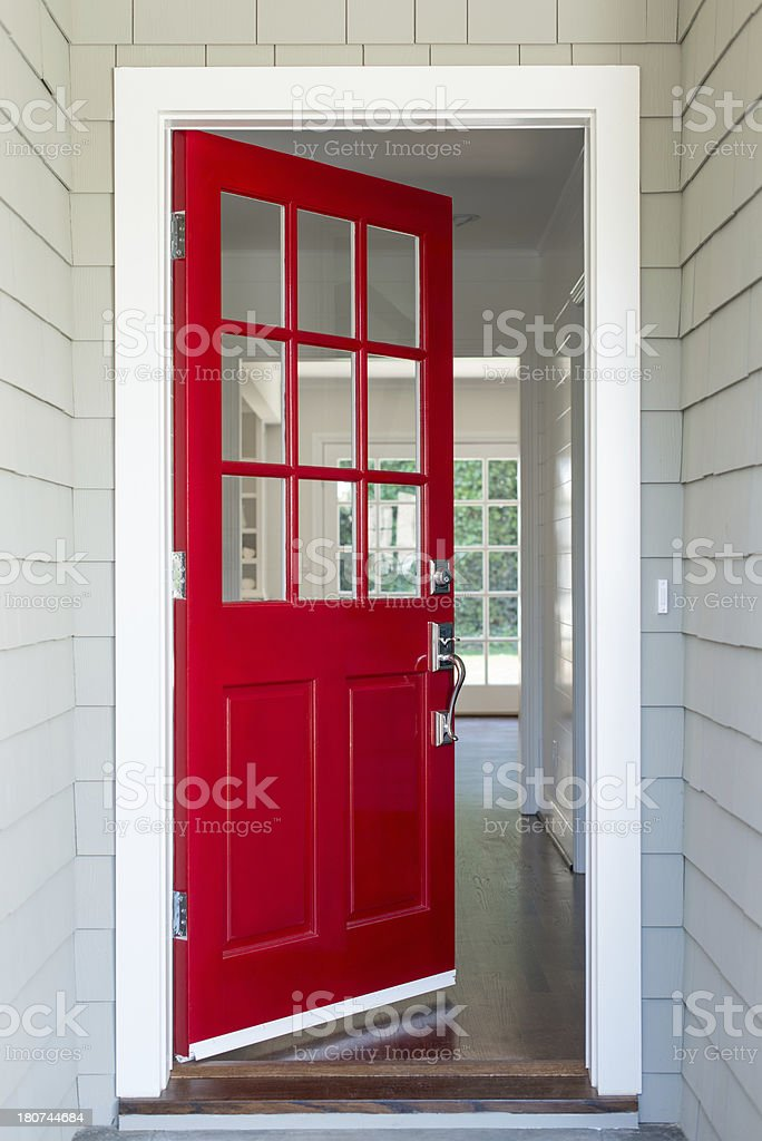 House key. stock photo Red Front Door stock photo ... & Front Door Pictures Images and Stock Photos - iStock pezcame.com
