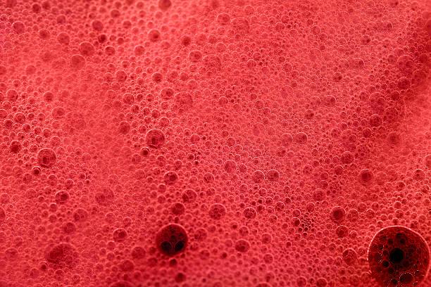 Espuma de rojo - foto de stock