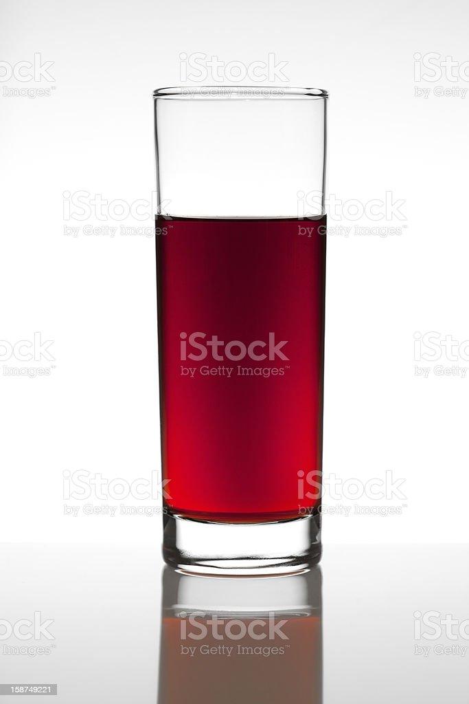 Red fruit juice royalty-free stock photo