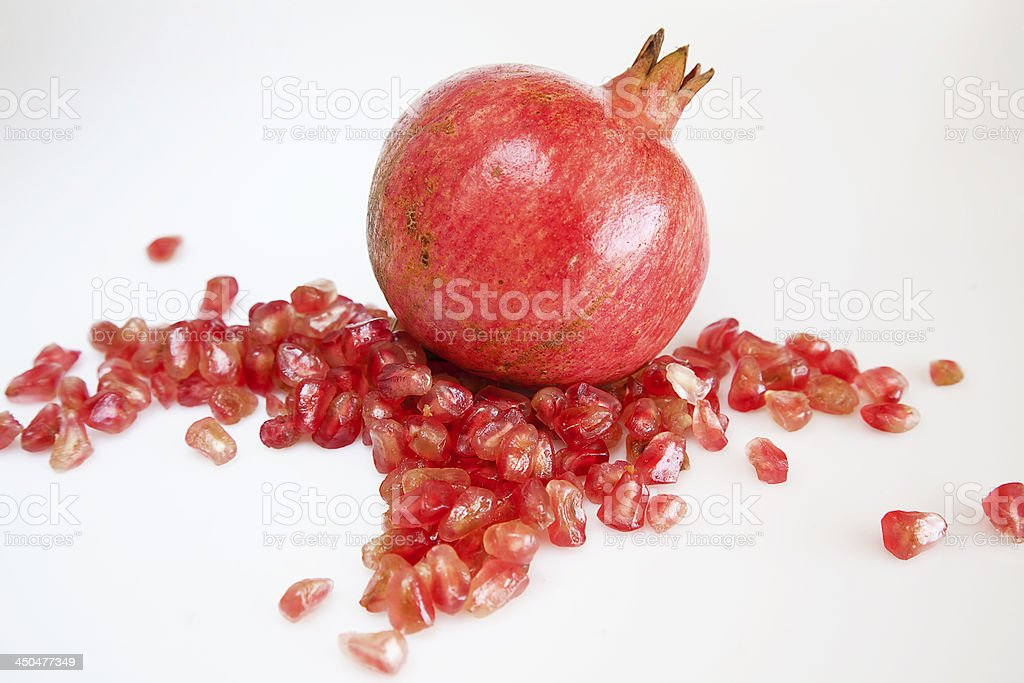Red fruits stock photo