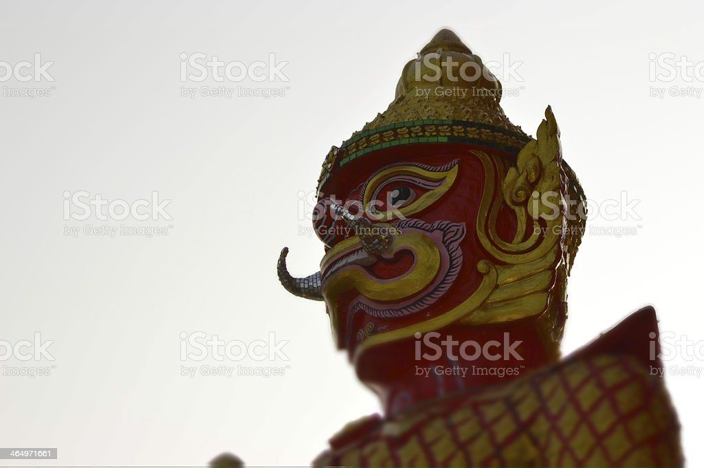 Red giant royalty-free stock photo