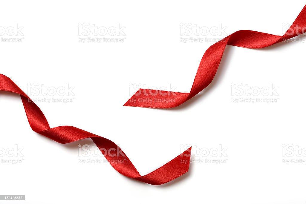Laço de presente vermelho - foto de acervo