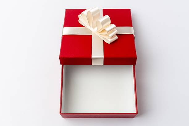 Royalty free open gift box top view pictures images and stock red gift box open top view stock photo negle Gallery