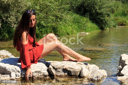 522909925 istock photo Red girl 483083448