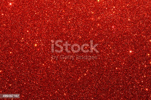 istock Red glitter paper texture 499462162