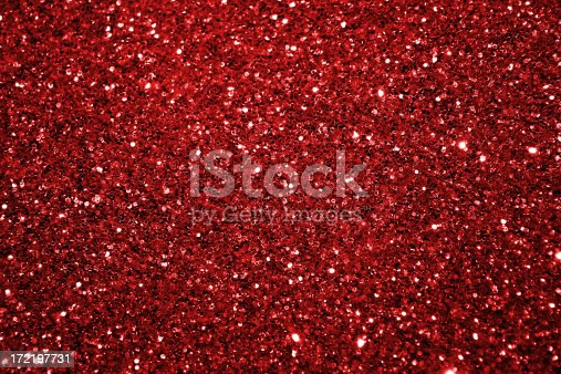 Red sparkle material