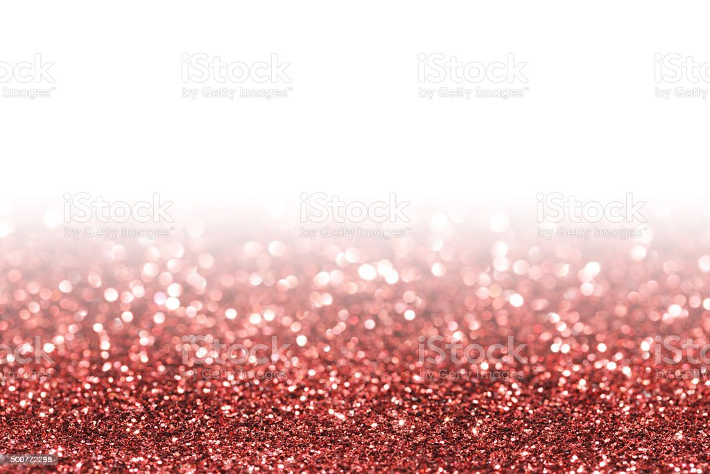 Red Glitter Stock Photo - Download Image Now
