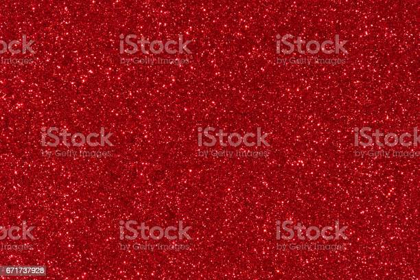 Photo of red glitter texture abstract background