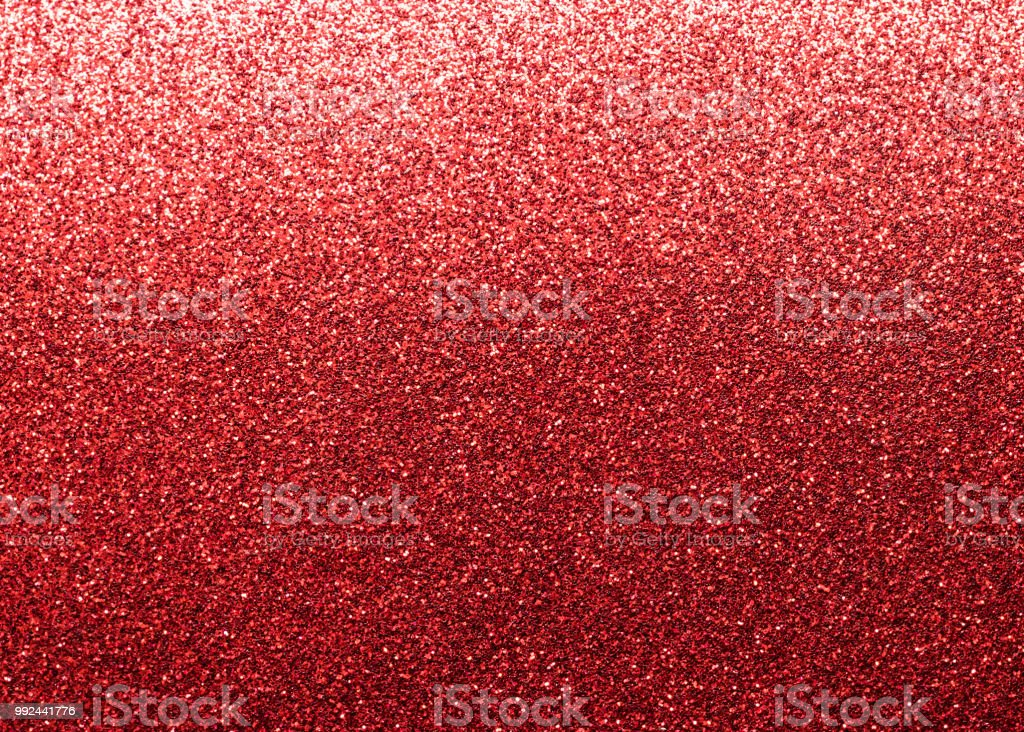 Red Glitter Texture Background For Christmas Holiday Decoration Metallic Wallpaper Backdrop Design Element Royalty Free