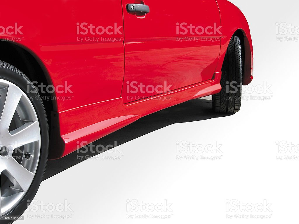 red goes faster 3 royalty-free stock photo