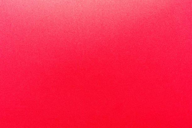 Rote Farbfarbe mit Textur aus echtem Schaumschwammpapier für Hintergrund, Kulisse oder Design. – Foto