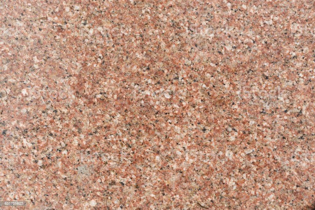 Red granite slab stock photo
