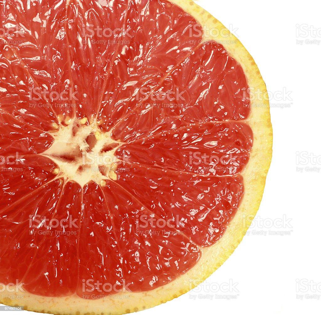 red grapefruit royalty-free stock photo
