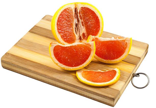 Rote grapefruit-Scheiben – Foto