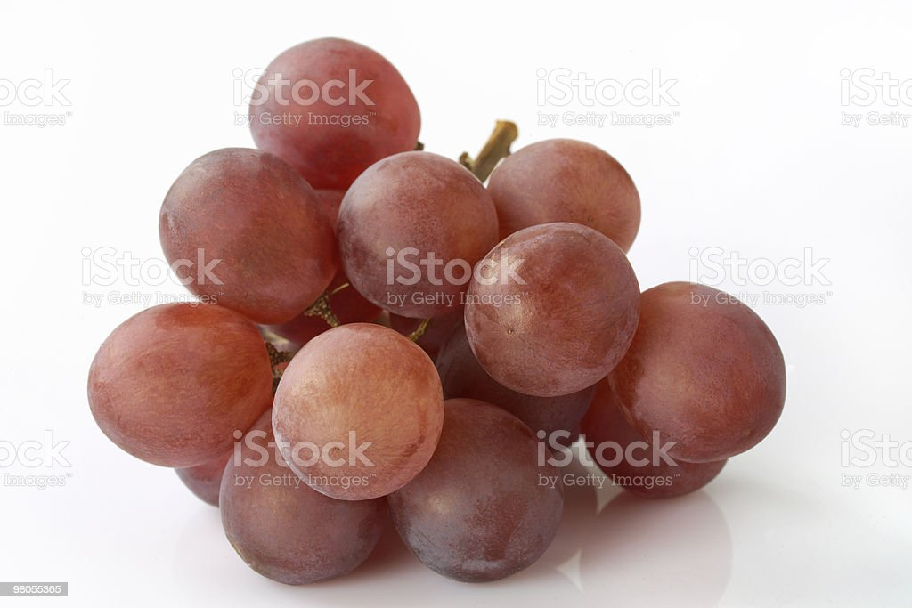 Red Grapes heap royalty-free stock photo