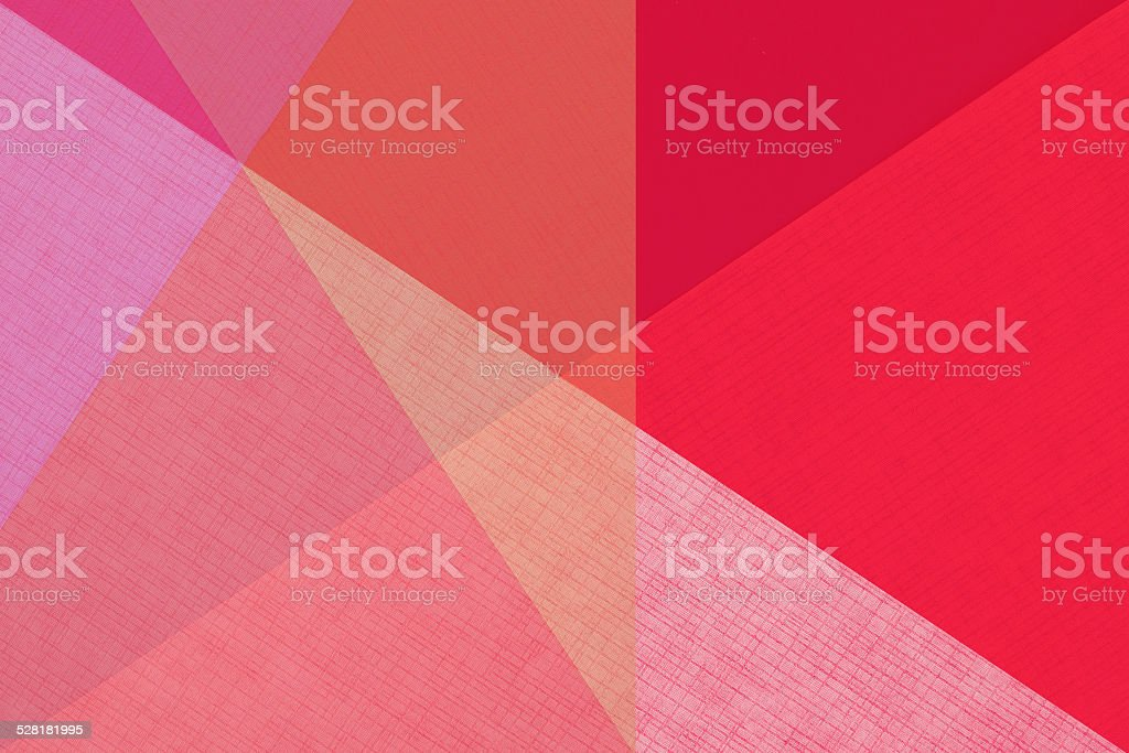 red graphic paper design stock photo